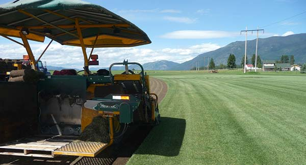 Landscaping Sod & Grass Delivery Services in the Flathead Valley and Kalispell area
